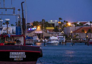 Aruba_Oranjestad_Jachthafen_bei_Nacht