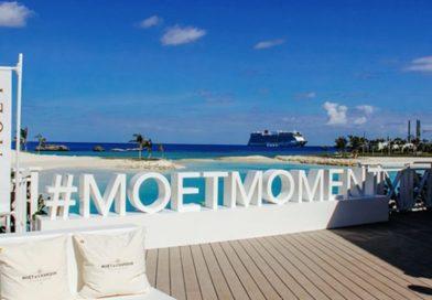 Moët & Chandon eröffnet Bar auf den Bahamas