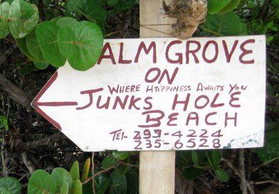 Palm Grove Sign