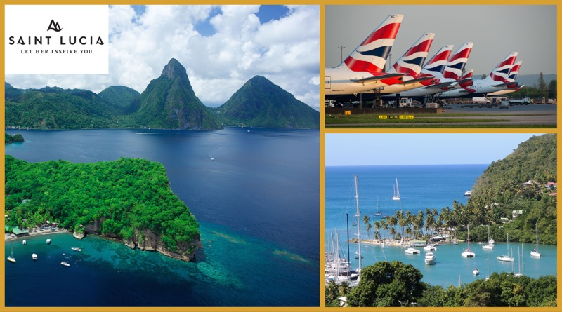 Flüge nach St. Lucia jetzt direkt ab London Heathrow