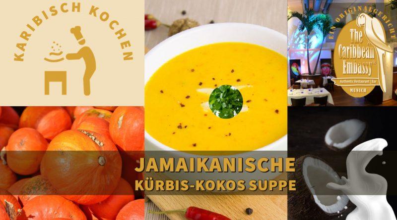 Jamaikanische Kürbis-Kokos-Suppe