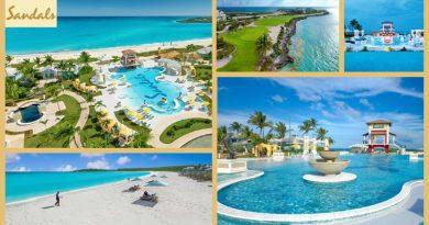 Bahamas – das Sandals Emerald Bay Exuma